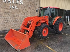 Tractor For Sale 2011 Kubota M8540HDC1 , 85 HP