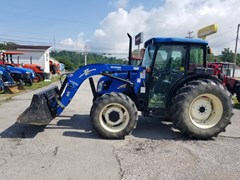 Tractor For Sale 2004 New Holland TN60DAC4L , 60 HP