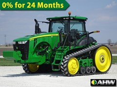 Tractor - Track For Sale 2016 John Deere 8370RT , 370 HP