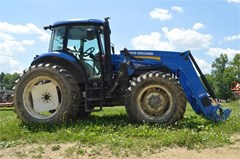 Tractor For Sale 2012 New Holland TS6.125 , 124 HP