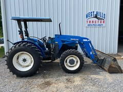 Tractor For Sale 2001 New Holland TN70 , 69 HP