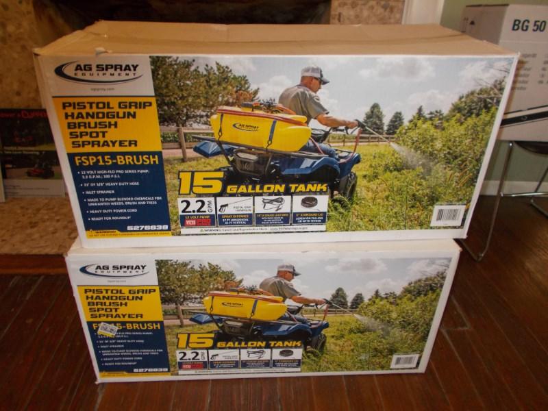 Ag Spray New 15 gal. 12-volt spot brush / weed sprayer Sprayer Attachment For Sale