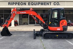 Excavator-Track For Sale Kubota U55-4R3AP , 47 HP