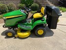 Riding Mower For Sale:  2017 John Deere X370