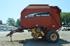 Baler-Round For Sale 2003 New Holland BR740