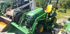 Tractor - Compact Utility For Sale:  2016 John Deere 1025R , 25 HP