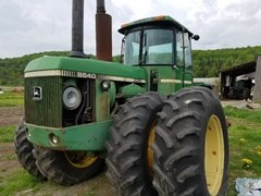 Tractor - 4WD For Sale:  1980 John Deere 8640 , 225 HP