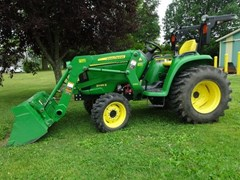 Tractor - Compact Utility For Sale 2017 John Deere 3038E , 37 HP