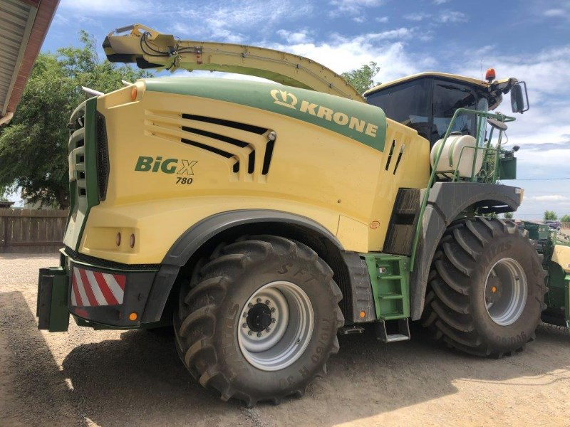 2019 Krone BIG X 780 Forage Harvester-Self Propelled For Sale