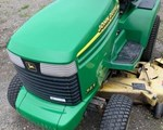 Riding Mower For Sale: 1995 John Deere 345, 18 HP