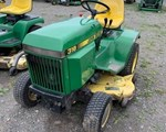 Riding Mower For Sale: 1987 John Deere 318, 18 HP