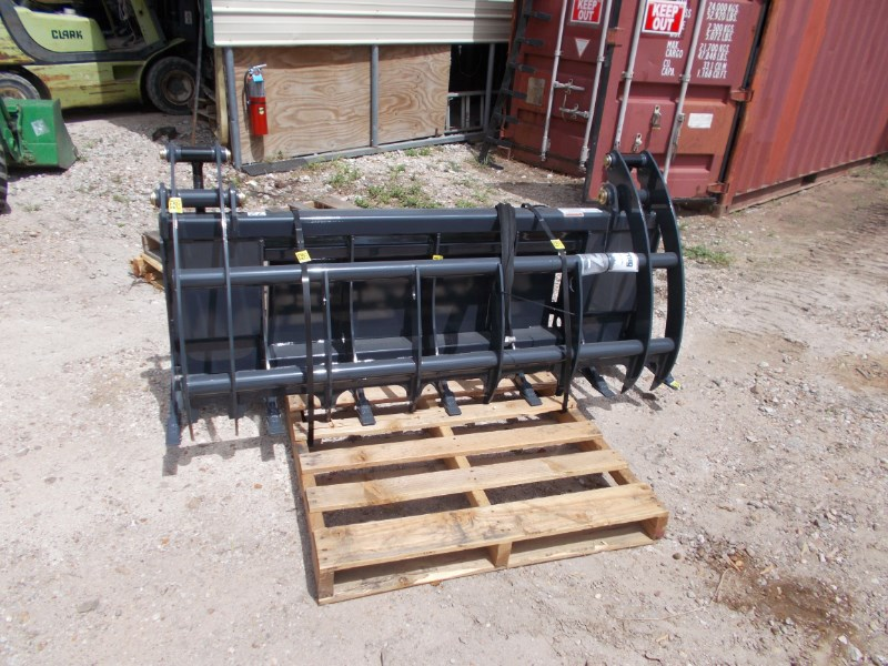 "Virnig NEW 72"" Virnig V40 ROOT RAKE GRAPPLE Grapple For Sale"