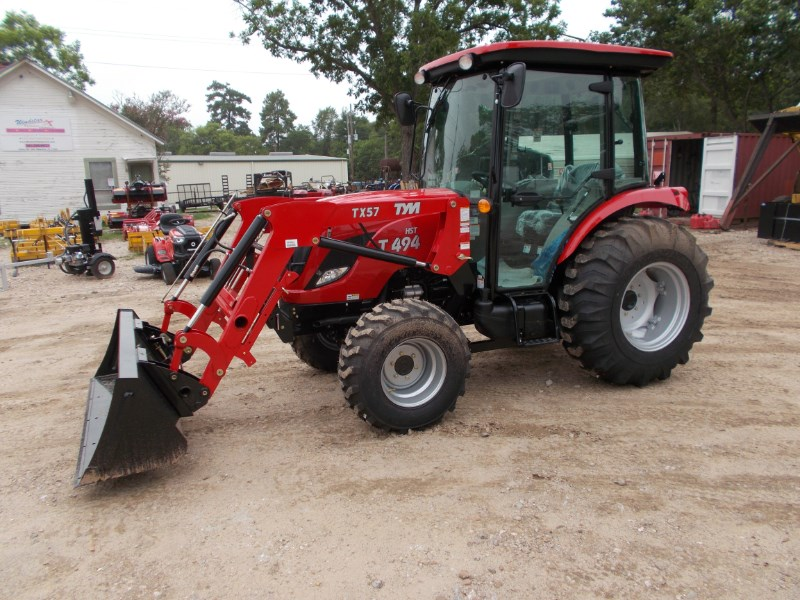 TYM New TYM T494 CAB diesel 4x4 tractor w/ front end l Tractor For Sale