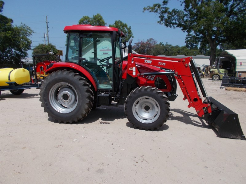 TYM NEW TYM T754 diesel 75hp 4x4 tractor w/ loader Tractor For Sale