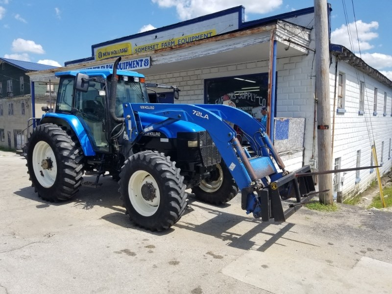 2002 New Holland TM115 Tractor For Sale