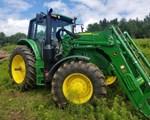 Tractor - Row Crop For Sale: 2019 John Deere 6155M, 155 HP