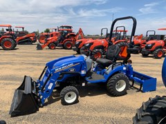 "Tractor For Sale 2021 New Holland Workmaster 25S - 48"" Bucket , 25 HP"