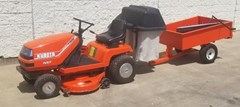 Riding Mower For Sale 1989 Kubota T1400