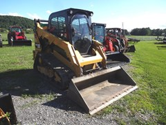 Skid Steer-Track For Sale 2015 Caterpillar 259D , 74 HP