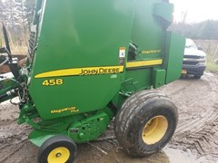 Baler-Round For Sale 2009 John Deere 458