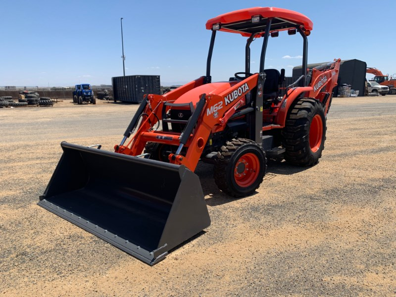 2021 Kubota M62 TLB Loader Backhoe For Sale