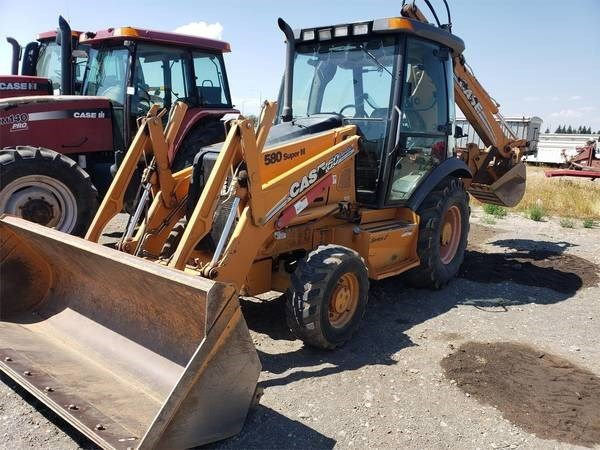 2007 Case 580SM II Loader Backhoe For Sale
