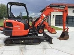Excavator-Mini For Sale 2017 Kubota KX033