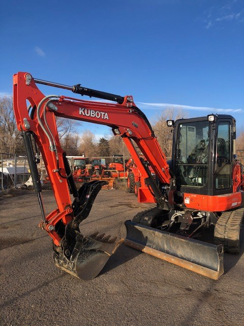 2020 Kubota U55-4, Excavator-Mini For Sale