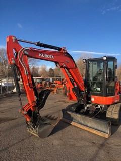 Excavator-Mini For Sale 2020 Kubota U55-4 , 47 HP