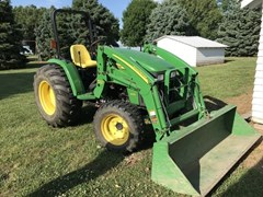 Tractor - Compact Utility For Sale 2008 John Deere 4105 , 41 HP