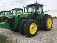 Tractor - Row Crop For Sale 2018 John Deere 8370R , 370 HP