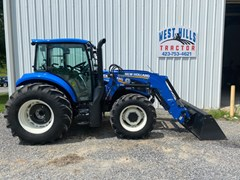 Tractor For Sale 2019 New Holland Powerstar 110 Utility , 107 HP