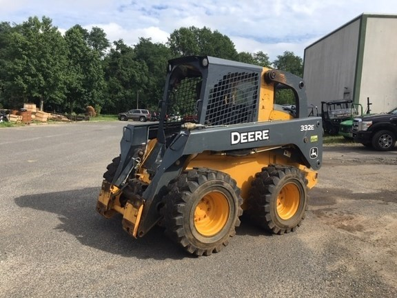 2014 John Deere 332E Skid Steer For Sale