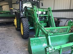 Tractor - Row Crop For Sale 2016 John Deere 6175R , 175 HP
