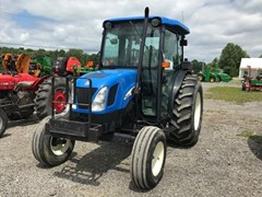 Tractor - Utility For Sale 2000 New Holland TN60DA , 57 HP