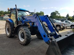 Tractor - Utility For Sale 2011 New Holland T6050 Plus , 125 HP