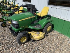 Riding Mower For Sale 2009 John Deere X724