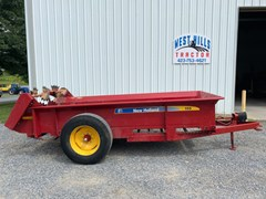 Manure Spreader-Dry/Pull Type For Sale 2008 New Holland 155
