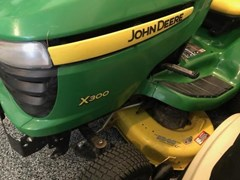 Riding Mower For Sale 2013 John Deere X300
