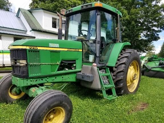 2000 John Deere 7210 Tractor - Row Crop For Sale