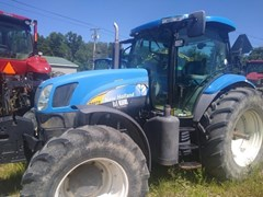Tractor - Row Crop For Sale 2009 New Holland T6070 Plus , 140 HP