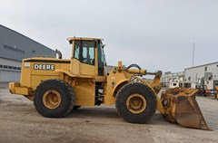 Loader For Sale 2001 John Deere 744H