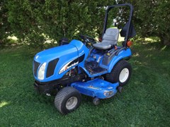 Tractor - Compact Utility For Sale 2004 New Holland TZ24DA , 24 HP