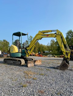 Excavator-Mini For Sale:   Yanmar VIO35