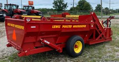 Poultry Litter Saver For Sale Lewis Bros. DB2LP