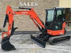 Excavator-Mini For Sale 2017 Kubota U35-4R3A , 25 HP