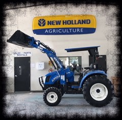 Tractor - Compact For Sale:  2015 New Holland BOOMER 46D , 46 HP