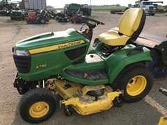 Riding Mower For Sale 2013 John Deere X730 , 25 HP