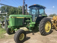 Tractor - Row Crop For Sale 1990 John Deere 4455