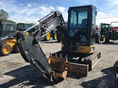 Excavator-Mini For Sale 2016 John Deere 35G